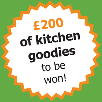 WIN £200 of kitchen goodies!